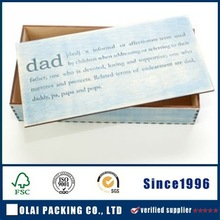 popular paperboard cuffink box packing