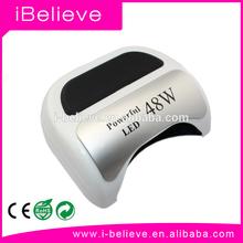 Professional 48W led ccfl nail lamp & led uv lamp /uv gel lamp life nail products