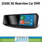 Newest hd car dvr rearview mirror +wireless backup camera+ germid rearview mirror JC600