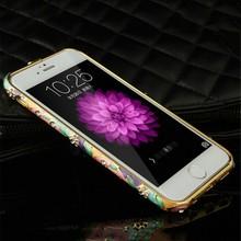 Shining diamond-studded mobile phone case,for iphone 6 diamond case