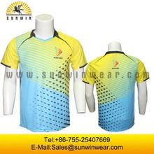 Men badminton uniforms sets, wholesale custom badminton jersey