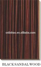 melamine laminated uv pre finished types of wood mdf