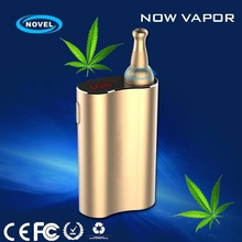 Reliable dry herb vaporizer Now Vapor vaporizer smoking pen with 1% free spare parts and considerate warranty