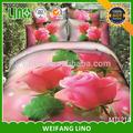 China textile cama 3d/quarto conjunto de dubai/impresso folha de cama