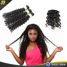 100% remy double drawn hair thick hair cambodian deep wave hair