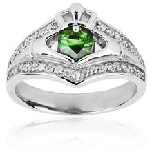 Hot selling fashion luxury CZ jewelry wholesale 3 carat diamond ring price