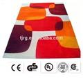 a qualidade natural da exposição de moda barata tapetes de pano
