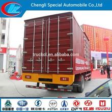 6 wheels FOTON mini cargo factory make 4X2 Foton food truck 11ton OEM ODM foton van box