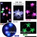 decoração de natal da bateria operado led estrela de luz