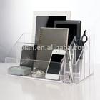 Clear Acrylic Desktop Organizer Storage Case