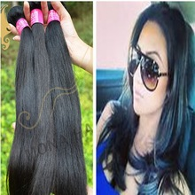 Natural straight raw black russian hair products wholesale unprocessed remy virgin hair