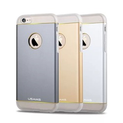 Tpu + Aluminum Hybrid For apple iPhone 6 plus Metal Aluminum Case