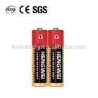 r6 aa battery 1.5v carbon zinc battery