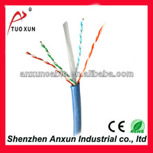 11 years experience Shenzhen Anxun cable D-link 23awg cat6 lan cable