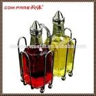 glass Oil and Vinegar Cruet, Set of 2 dispenser