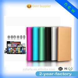Wholesale portable slim 5200mah aluminum powerbank