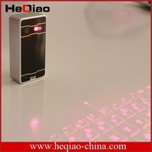 bluetooth wireless laser virtual keyboard for iPhone/iPad/Samsung
