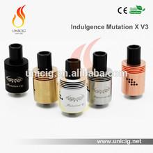 China 2015 hottest rebuildable atomizer mutation x unicig indulgence mutation x v3