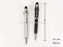 Lattice Art on Pen Effect in Metal ballpoint pen Uni Style