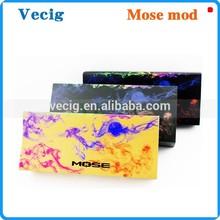 Huge Vapor Mose Mod 3 colors 26650 e hose 2.4ohm 1.4ml 3500mah 300 times recycle battery 3.7V-4.2V 26650 e hookah pen