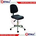 Eléctrico sentarse y silla soporte para salas blancas