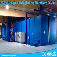 China sandblasting booths for sale /sandblasting cabinet from china supplier
