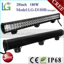 """High Power 180W LED Light Bar IP68 LED Light Bar 28"""" LED Bar Light for 4x4 Accessories"""
