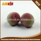 Polystyrene peach simulated fruit