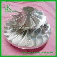 High precision 5 axis cnc machining turbine wheel, air compressor machining turbine wheel