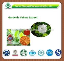 GMP factory supply high quality natural Gardenia Yellow
