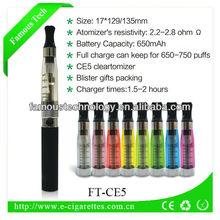 China market e-cig atomizer exgo w3 wholesale 2014 best selling products ego ce5 1100mah