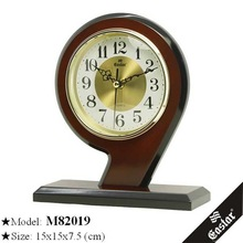 Wooden small table clocks