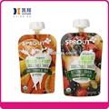 Composto stand up de frutas suco de caixa de embalagem com bico