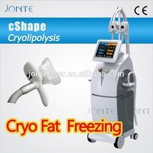 China most advanced cooling 4 handles cryolipolysis body slimming machine cryo fat freezing
