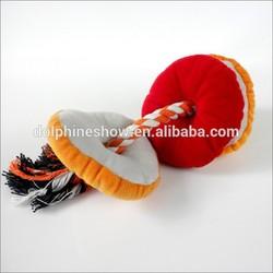 Hot selling cheap plush cat dog toy pet
