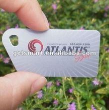 Custom designed Matt Small MIFARE (R) NFC Card for loyalty and access control