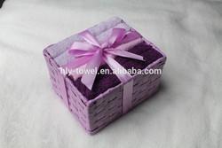 Novelty Item decorations basket gift boxes for towels