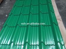 Trapezoid prepainted steel roofing/wzhgroup lisa