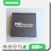 HD Video Converter CVBS HDMI to HDMI Converter with Audio Coaxial