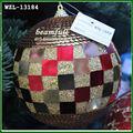 Multi- cor grandes bolas de natal ornamento