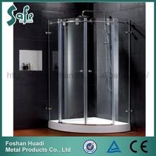 2015 popular Luxury shower cabin Frameless sliding glass shower room