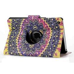 fashion pattern leather for ipad mini 3 360 rotating case