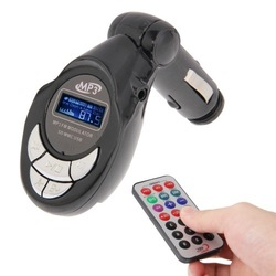In Car 4 in 1 (SD Card) / USB MP3 Wireless FM Modulator Transmitter with LCD Display