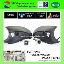 multi camera system car top view camera system car parking sensor system front camera for VOLKS WAGEM PASSAT 13/14