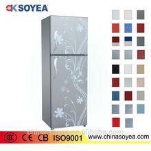 fashion design R134a refrigerant refrigerator for hot sale CE