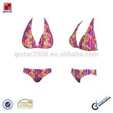 wholesale sexy swimwear, colorful print bikini