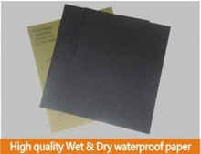 High quality Wet & Dry waterproof paper for sanding wood furniture removal of paint from metal surface