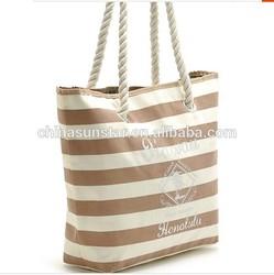 Fashion canvas tote bag,handle shopping cotton bag, canvas tote bag