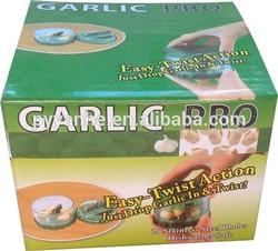 Hot selling easy twist action garlic chopper garlic pro