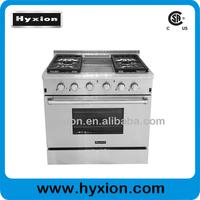 """36"""" professional 4 burner table top gas cooker royal kitchen set"""